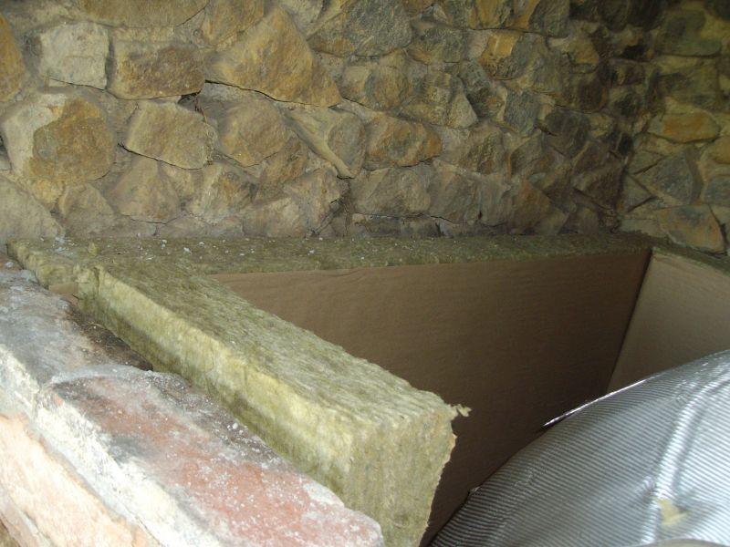 Derni res tapes de la construction fa ade isolation et for Isolation cheminee laine de roche
